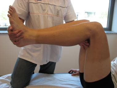 Gravity sign test for posterior instability.