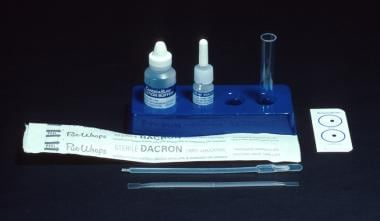 Latex agglutination–based diagnostic tests for Can
