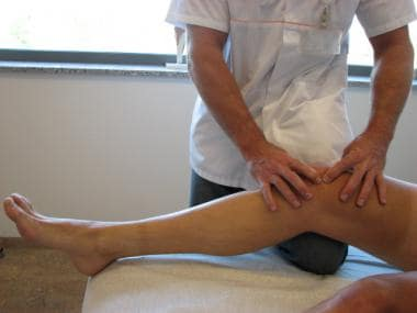 Patellar subluxation test for patellar instability