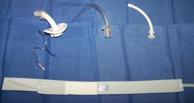 Obturator, inner cannula, cuffed tracheostomy tube