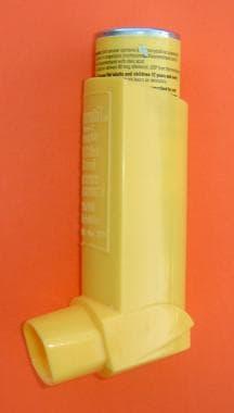 Metered dose inhaler (MDI).