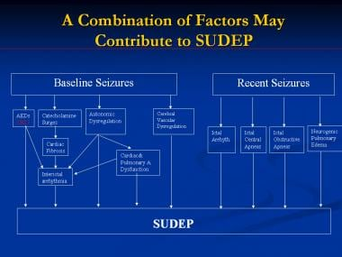 A combination of factors may contribute to sudden