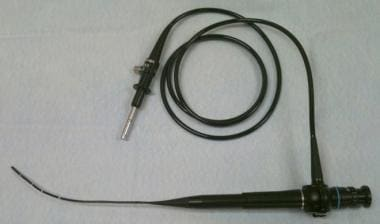 Flexible diagnostic hysteroscope.