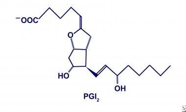 Prostacyclin (PGI2).