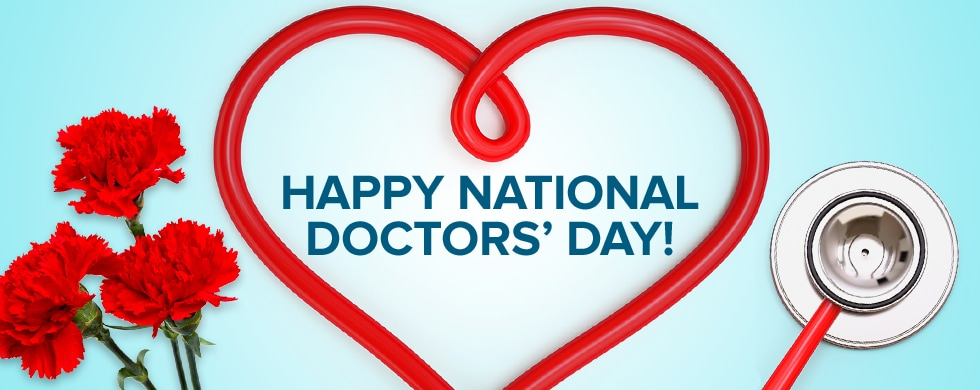 Image result for happy national doctors day