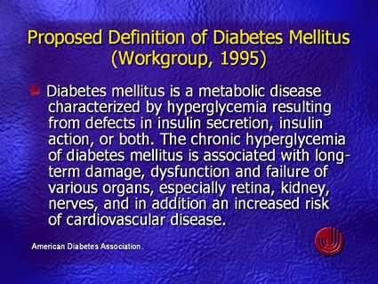 Definition von diabetes mellitus