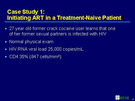 hiv case study