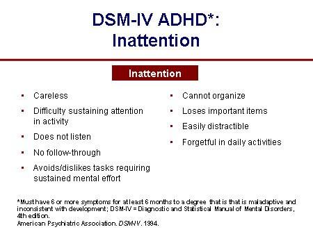 Add Diagnostic Criteria For Adults