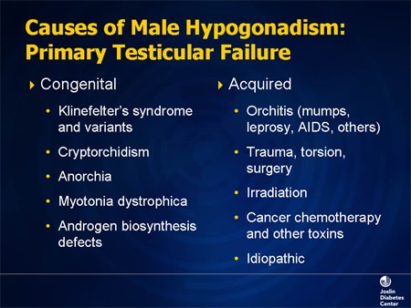 Hypogonadism and Type 2 Diabetes: Relationships and