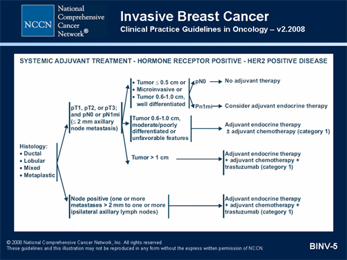 Nccn Clinical Practice Guidelines In Oncology Breast