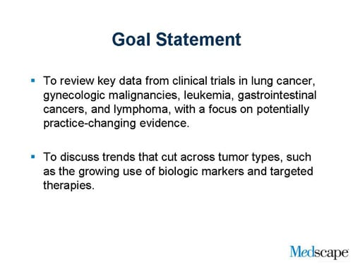 Oncology Insights Slides with Transcript – Goal Statement