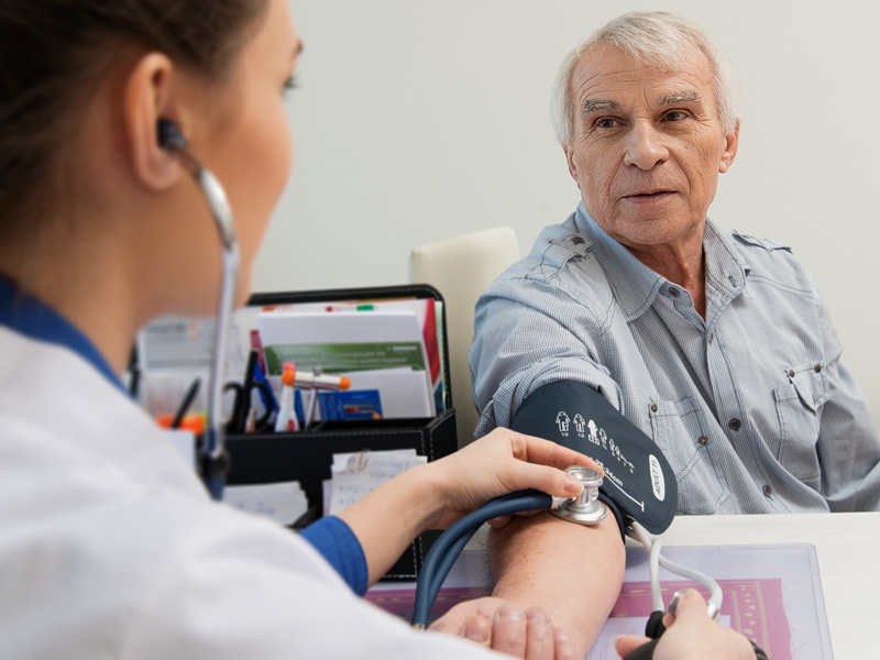 SPRINT: Low Blood Pressure Target Good for Older Patients