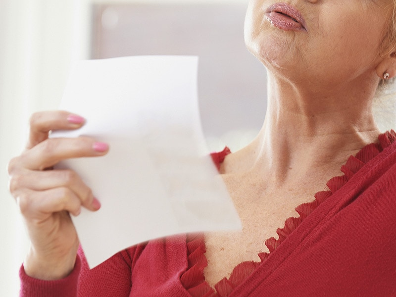 Excessive Hot Flashes Might Signal Cardiovascular Disease