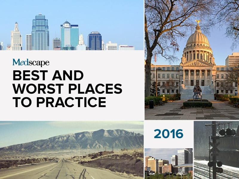 Best and Worst Places to Practice 2016