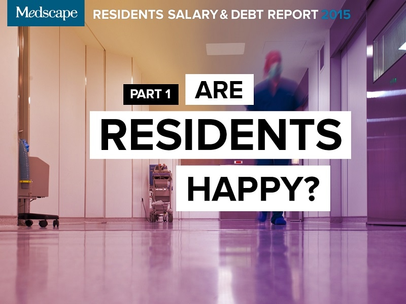 Residents Salary & Debt Report 2015