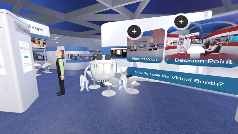 Medscape Virtual Booth