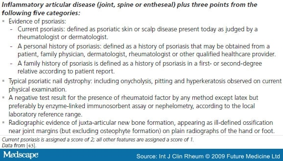 treatment guidelines for psoriatic arthritis