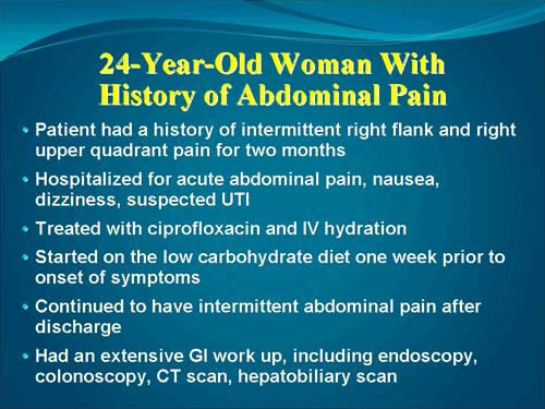 Cipro and abdominal distress