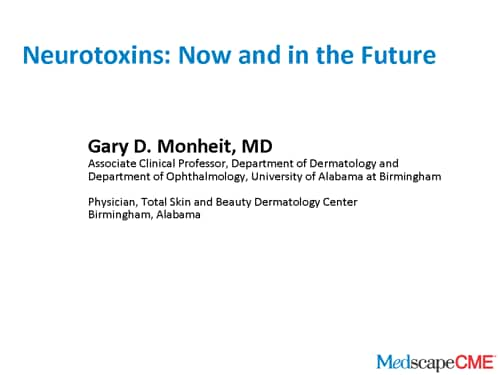 Neurotoxins: Now and in the Future (Transcript)