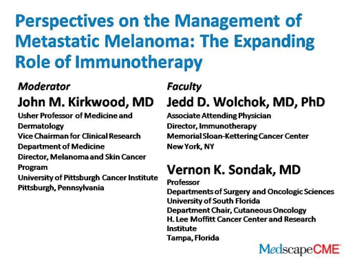 523ba203916 Metastatic Melanoma Management: The Expanding Role of Immunotherapy ...