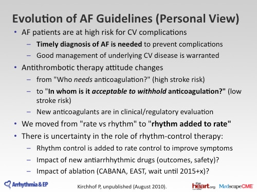 esc atrial fibrillation guidelines 2010