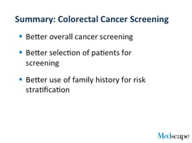 Colorectal Cancer Screening The Latest Guidelines Transcript
