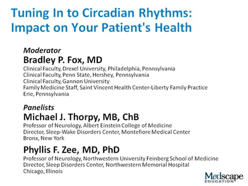 Tuning In to Circadian Rhythms: Impact on Your Patient's