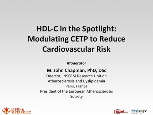 HDL-C in the Spotlight: Modulating CETP to Reduce
