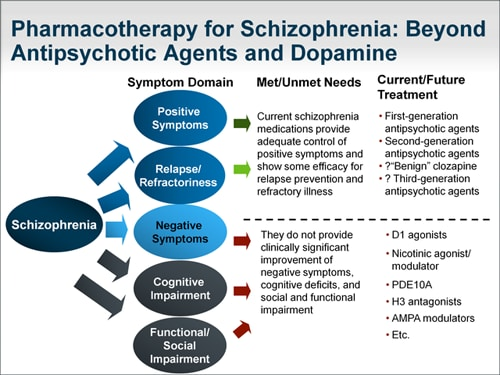Schizophrenia Treatment: Mechanisms of Action for Next