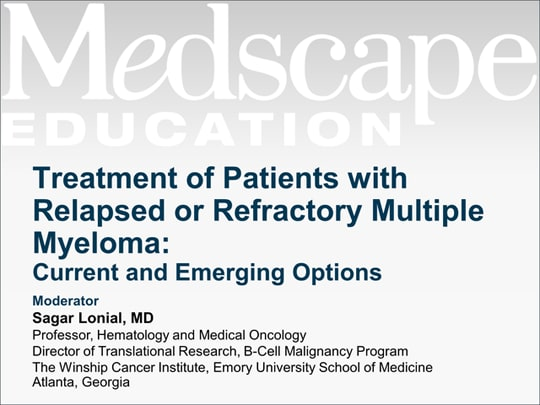 Treatment Of Patients With Relapsed Or Refractory Multiple