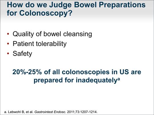 Bowel Preparation For Colonoscopy Achieving A Clear View Transcript