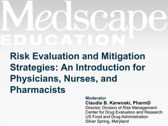 Risk Evaluation And Mitigation Strategies An Introduction For