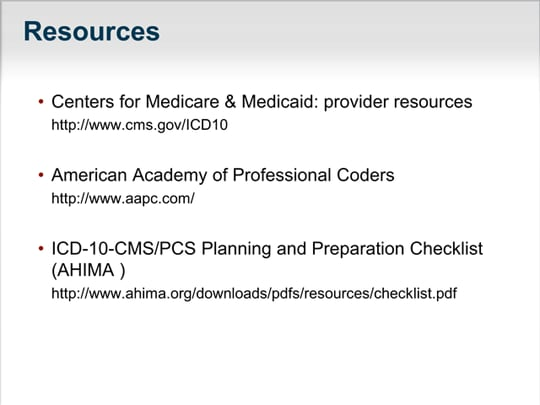 icd 10 a guide for small and medium practices transcript