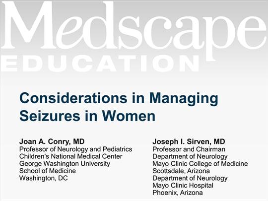 Considerations in Managing Seizures in Women (Transcript)