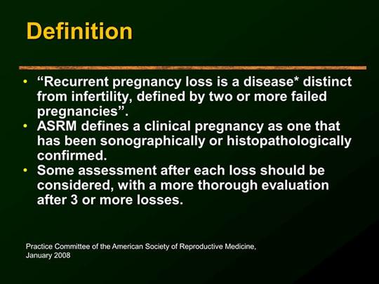 Strategies for Managing Recurrent Pregnancy Loss (Transcript)
