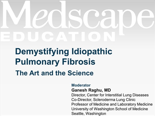 Demystifying Idiopathic Pulmonary Fibrosis: The Art and the Science