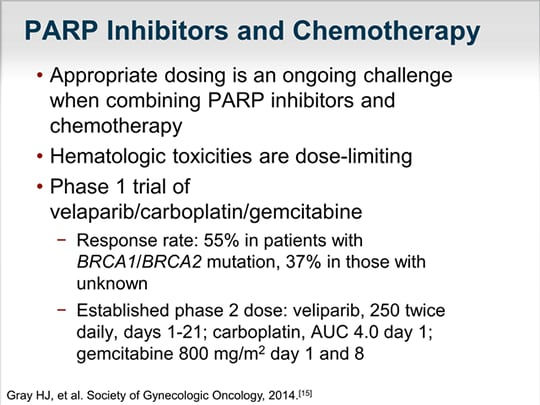 What Does BRCA Have to Do With It? PARP Inhibitors in