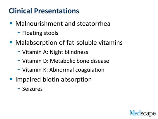 steatorrhea cystic fibrosis