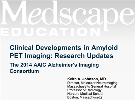 Clinical Developments in Amyloid PET Imaging: Research Updates