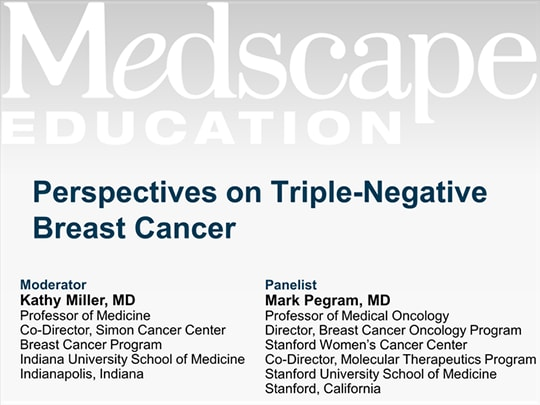 Perspectives on Triple-Negative Breast Cancer (Transcript)