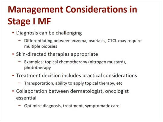 A Collaborative Approach to Treating MF-CTCL (Transcript)