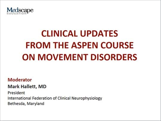 0da76e740 Clinical Updates From the Aspen Course on Movement Disorders ...