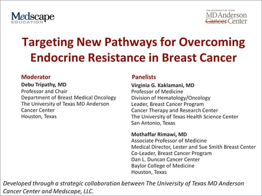 Targeting New Pathways for Overcoming Endocrine Resistance