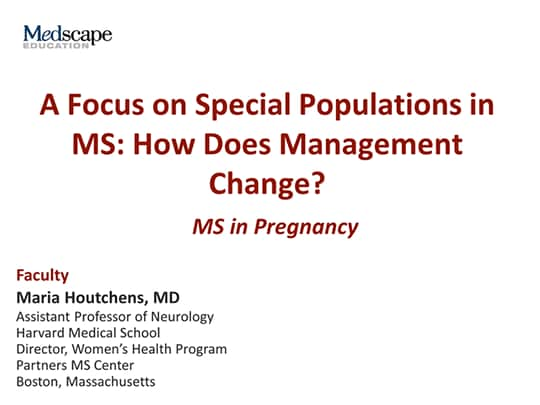 A Focus on Special Populations in MS: How Does Management