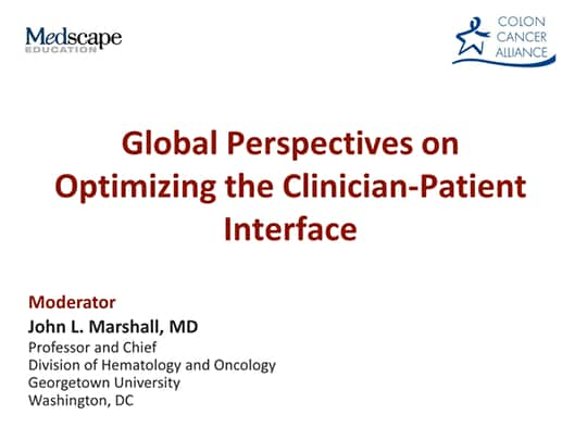 Global Perspectives on Optimizing the Clinician-Patient
