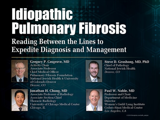 Idiopathic Pulmonary Fibrosis: Reading Between the Lines to