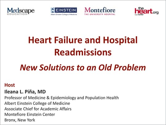 Heart Failure and Hospital Readmissions: New Solutions to an