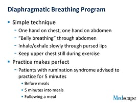 Breathe Easy: Rumination Syndrome Can Have a Simple Fix
