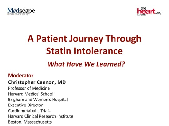A Patient Journey Through Statin Intolerance: What Have We Learned