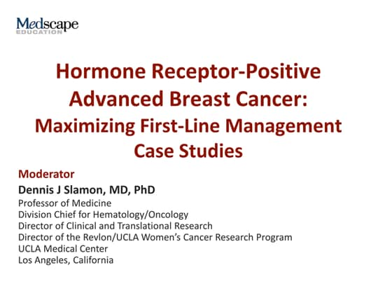 Hormone Receptor-Positive Advanced Breast Cancer: Maximizing First